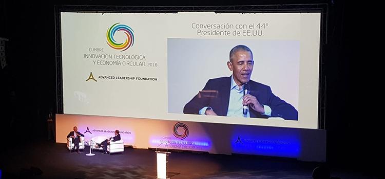 FORO ESPAÑA acude a la Cumbre internacional Innovación Tecnológica y Economía Circular