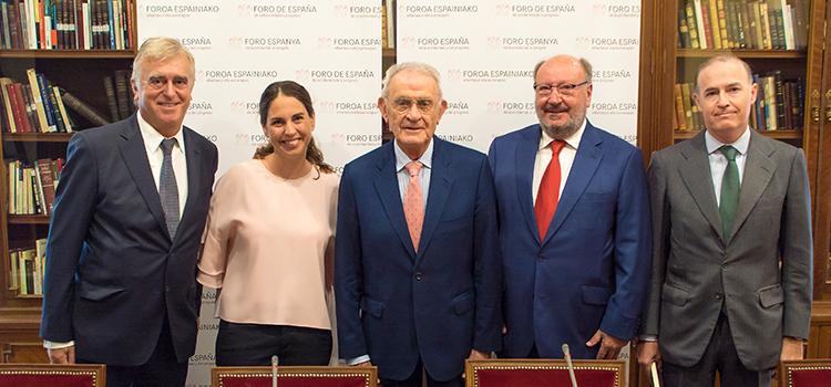 Mariano Gomà: «Debemos perderle el miedo a sentirnos españoles y a hablar de España»