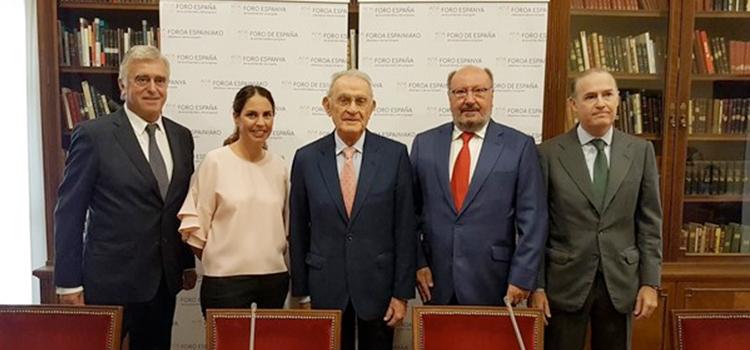 Presentan en Madrid un foro para defender los valores de la Constitución a través de la solidaridad