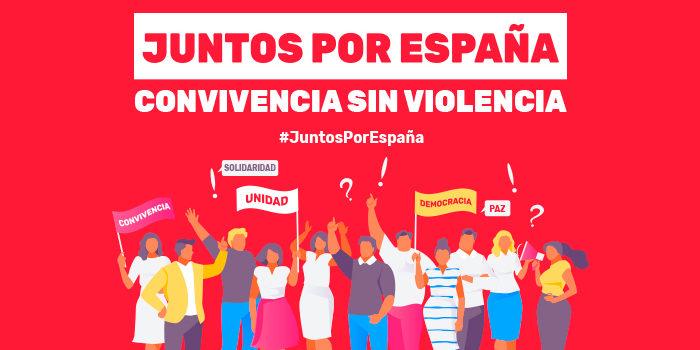 """Crónica – Concentración en Madrid """"Juntos por España"""""""